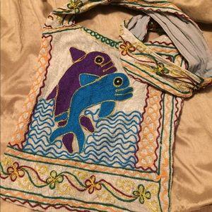 Bags - 🌟Boho dolphin bag!